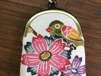 びんがたがま -桜にメジロ-の画像