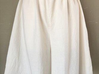 オーガニックコットンのペチコート(キュロット)の画像