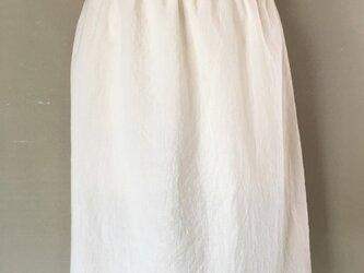 オーガニックコットンのペチコート(スカート)の画像