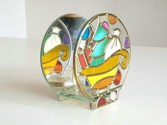 グラスアートキャンドルホルダー『ティンカーベールNight』の画像
