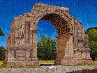 果報は寝て待て~グラヌムの凱旋門の画像
