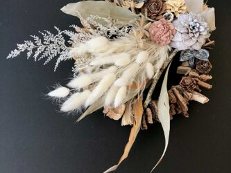 Dryflower natural wreath IIの画像