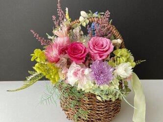 Autumn Flower basket IIの画像