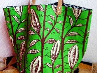 African バケツ型 バッグの画像
