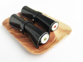 栃木レザーのマキズシペンケース 鉄火巻の画像