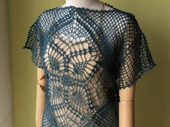 手編みリネンクロッシェの画像