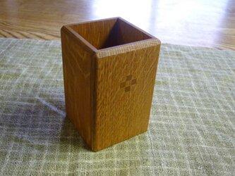 ぺん立て 木象嵌が4つ 袴なしデザインの画像