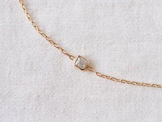 Ice Cube Square Diamond Braceletの画像