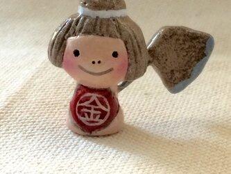 五月人形【金太郎】ミニサイズの画像