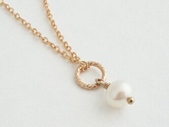 14KGF Petit Charm Necklace WHの画像