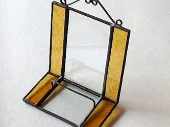 ステンドグラス ディスプレイスタンド (山吹色)の画像