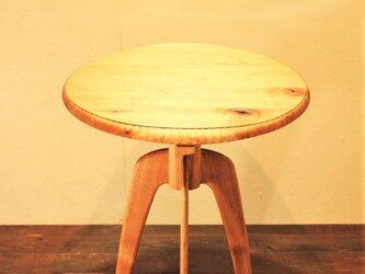 【受注生産】ラウンドティーテーブルの画像