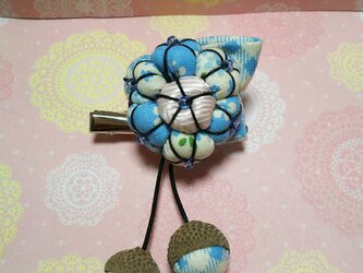 2way*花模様のブローチ・ピンの画像