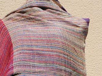 手織シルクストールdの画像