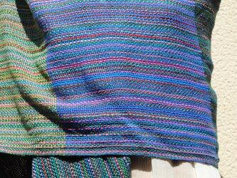 手織シルクストールeの画像