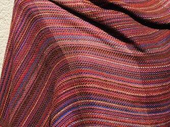 手織シルクストールfの画像