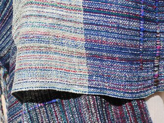 手織シルクストールgの画像