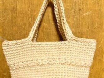 スタークロッシェのミニバッグ(ナチュラル)の画像