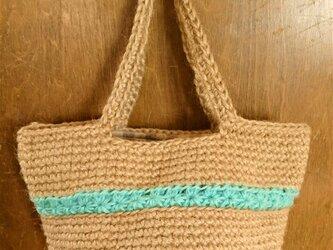 スタークロッシェのミニバッグ(ミントグリーン)の画像