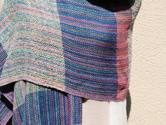 手織シルクストールhの画像