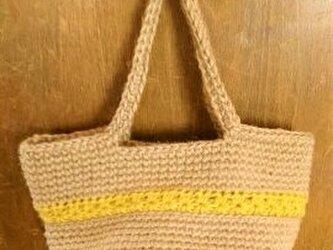 スタークロッシェのミニバッグ(イエロー)の画像