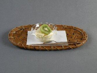 鉄線編み 楕円皿 トレーの画像