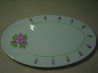 楕円皿の画像