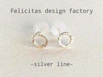 silver925:ま る pierce:smallの画像