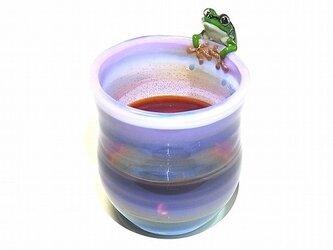Frog Glass 雨蛙 カップ 【kengtaro/ケンタロー】 カエル ボロシリケイトガラスの画像