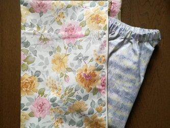 花柄のお着替え入れの画像