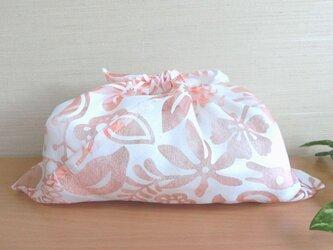 あづま袋 あずま袋 メッシュオレンジ 動植物 温泉、ファスナー無しバッグ・かごバッグにもの画像