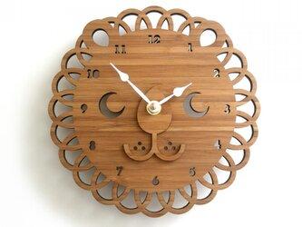 LION ライオンの掛け時計(Sサイズ)の画像