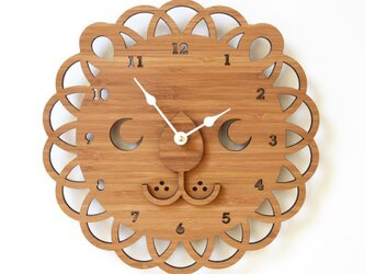 LION ライオンの掛け時計(Lサイズ)の画像