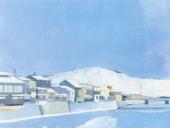 冬の高山の画像