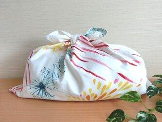 あづま袋 あずま袋(大)花火 温泉、ファスナー無しバッグ・かごバッグにもの画像