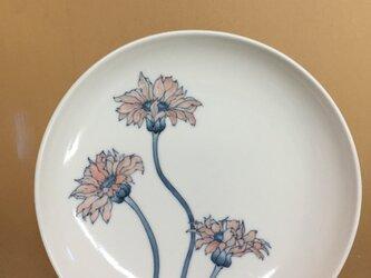 ガーベラのお皿の画像