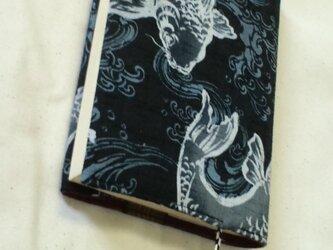 ハヤカワ専用・文庫本用ブックカバー(鯉)の画像