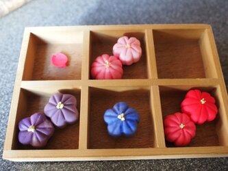 和菓子(練りきり)マグネット(2個セット)の画像