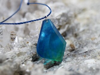 ウミノガラス SEAGLASS PENDANT -k-の画像