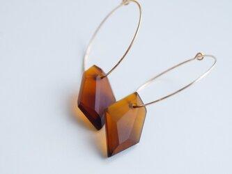 ウミノガラス SEAGLASS ピアス -p-の画像