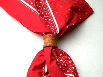 スカーフリング(マホガニー)の画像