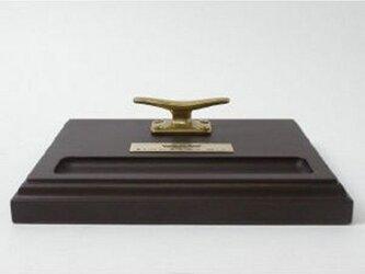 真鍮 クリート付ペントレー(名入れ銘板付)の画像
