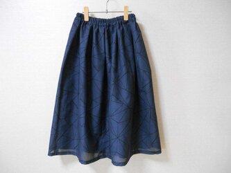 再販❇夏着物紗紬のリメイクスカートの画像