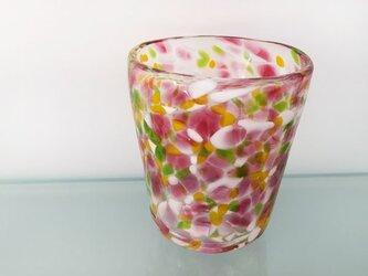 彩グラス(flower)の画像
