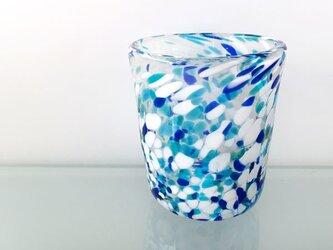 彩グラス(青海01)の画像