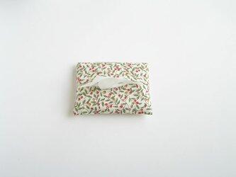 木の実のティッシュケース(白)の画像