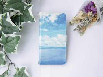 【送料無料】summer vacation / フォトプリント手帳型スマホケース【iPhone/Android全機種対応】の画像