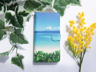 【送料無料】夏の扉/フォトプリント手帳型スマホケース【iPhone/Android全機種対応】の画像