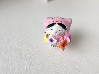 S様専用大好きだよ!花束猫かぶり猫さんの画像