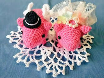 Happy♥Wedding Welcome ドール pinkの画像